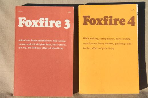 LOT FOXFIRE 1 2 3 4 5 6 Homesteading Skills Self Sufficiency Survival Crafts