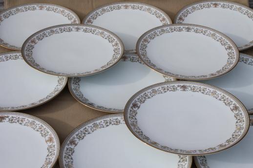 Gracelyn Noritake china dinner plates set of 12 vintage Noritake dinnerware & Gracelyn Noritake china dinner plates set of 12 vintage Noritake ...