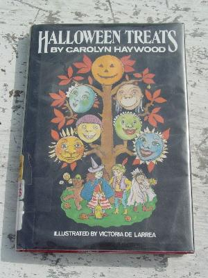 Halloween Treats stories Carolyn Haywood book