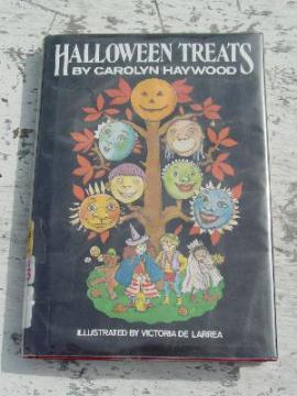 Halloween Treats stories Carolyn Haywood book