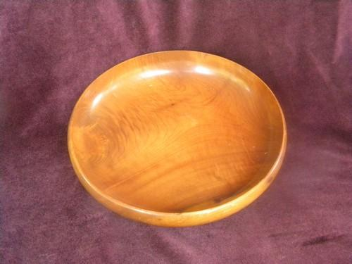 Hand turned Myrtlewood bowl from Marshfield, Oregon, vintage treenware