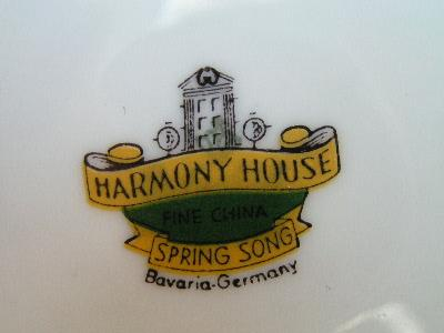 Harmony House Spring Song Vintage China 24 Pcs