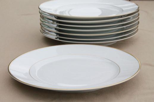 Heinrich H Amp Co Mark Porcelain Dinner Plates Deco Vintage