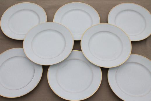 Heinrich H Amp Co Mark Porcelain Dinner Plates Deco Vintage