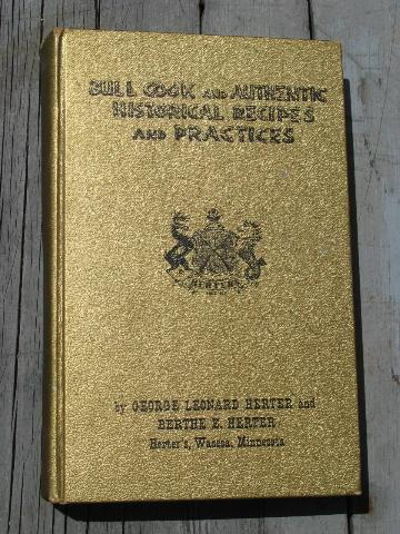 Herter's bull cook & authentic historical recipes, 60s vintage edition