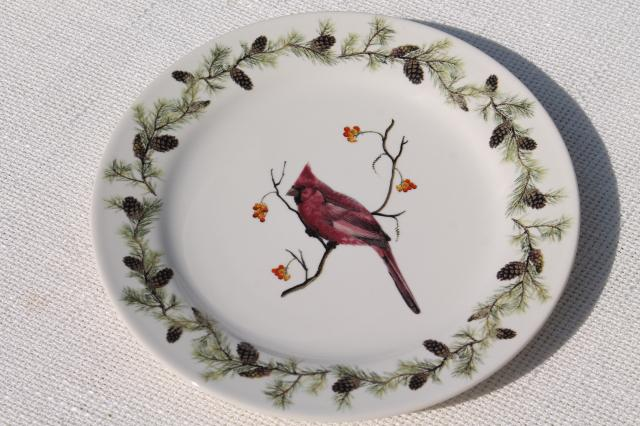 Stoneware Christmas Dishes