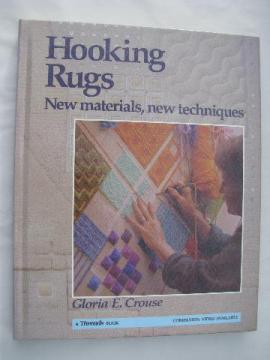 Hooking Rugs, vintage hooked rug instruction / technique book
