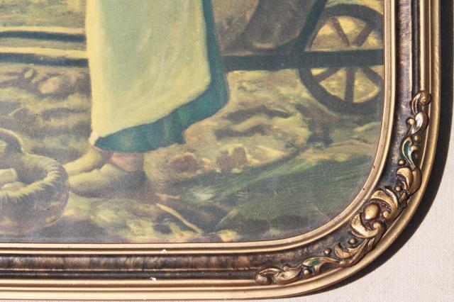 Antique Chandeliers For Sale >> Jean Francois Millet Angelus, Prayer for the Potato Crop ...