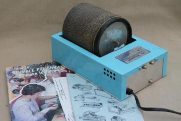 Lortone 3A rotary rock tumbler, electric rock & gemstone polisher, lapidary & jewelry tool
