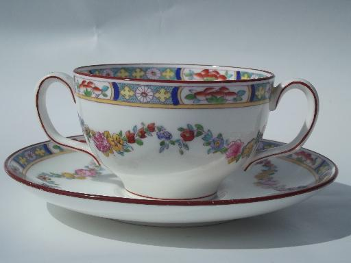 Minton Rose Antique Handpainted
