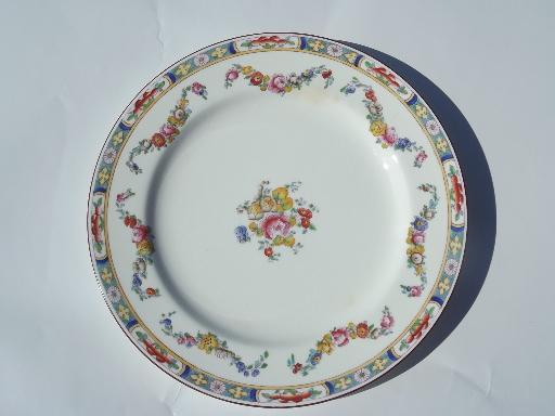 Minton Rose antique handpainted Minton\u0027s china plates luncheon plate lot & Minton Rose antique handpainted Minton\u0027s china plates luncheon ...
