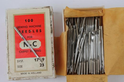 Nc Carpet Binding Machine Needles N C 103 14 17 9 123