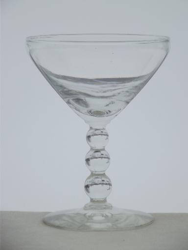 Ditko Vintage libbey glasses the