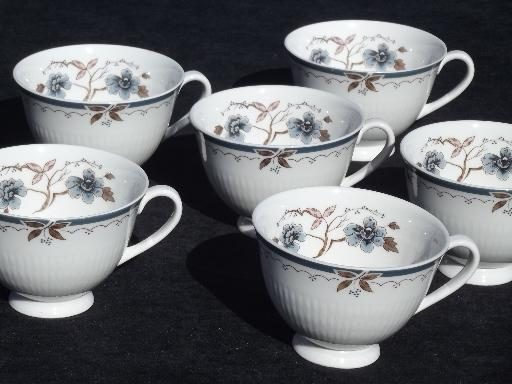 Old Colony Vintage Royal Doulton China 6 Footed Coffee