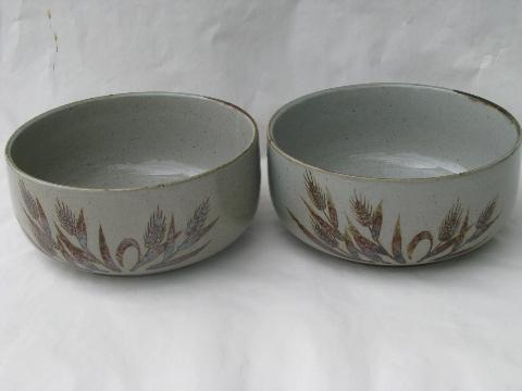 Plates And Bowls Set Rustic