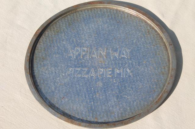 Ovenex Type Vintage Baking Pans Two Round Trays Appian