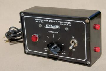 Pro-Craft  electric wax spatula & carver temperature control 17-037, lost wax casting tool