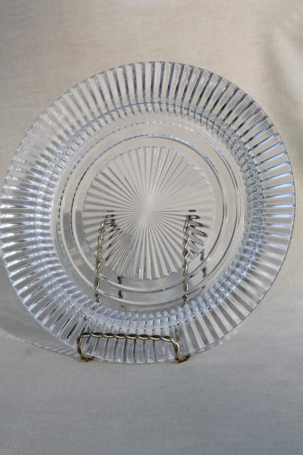 Queen Mary Vintage Anchor Hocking Depression Glass Dinner