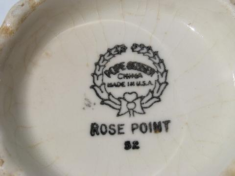 Vintage Crockery & Accessories Hire - Tea and Roses