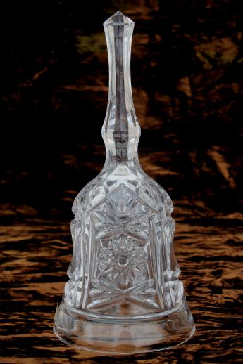 Royal Crystal Rock Lead Glass Bell Wedding Bell Or Table