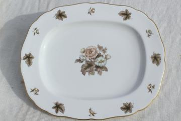 Royal Worcester Dorchester china, huge platter - turkey platter or serving tray