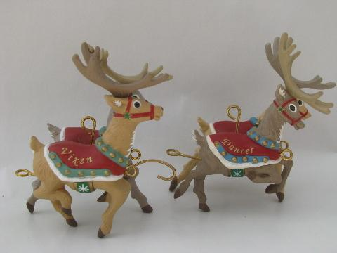 Brass Christmas Tree Ornaments