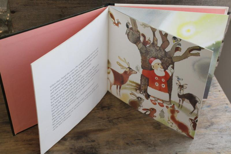 Santa's Favorite Story picture book, the first Christmas - birth of Jesus