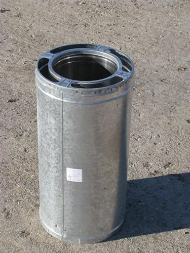 Simpson Duravent Dura Plus Insulated Chimney Pipe For Wood