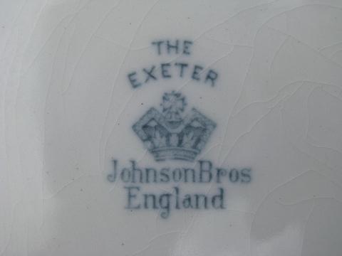 Johnson bros england china lookup beforebuying