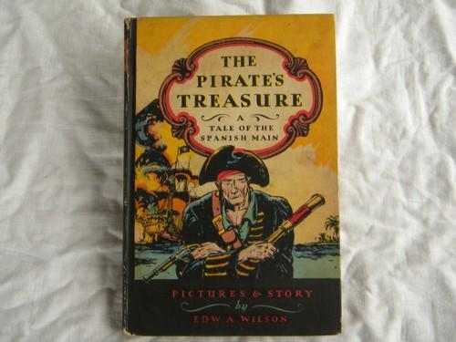The Pirate's Treasure w/color illustrations by Edward Wilson