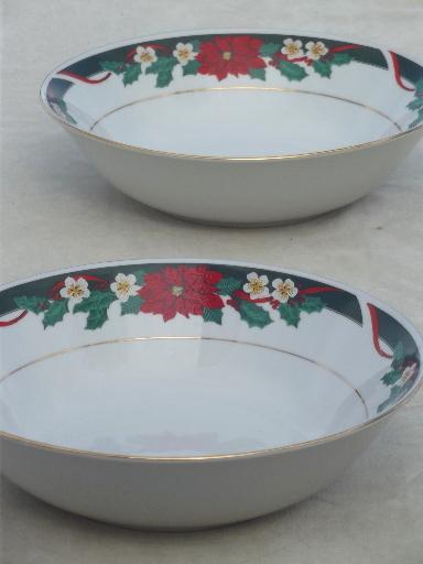 Christmas Plate Set