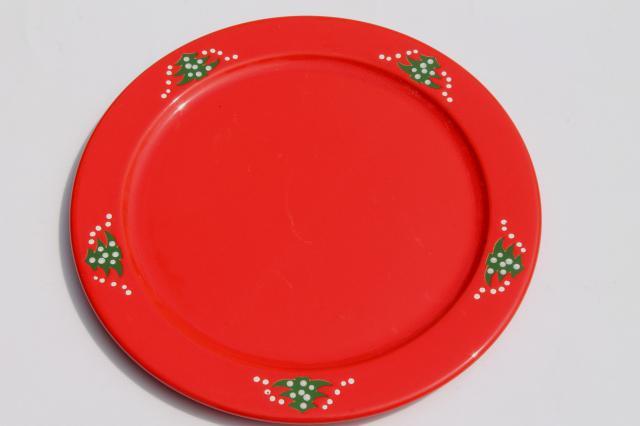 sc 1 st  Laurel Leaf Farm & Waechtersbach Christmas Tree cake plate / round serving platter