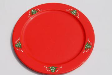Waechtersbach Christmas Tree cake plate / round serving platter