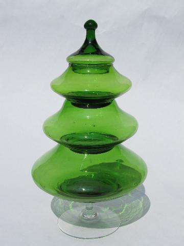 Christmas Tree Candy Dish