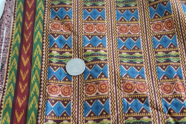Woodin Afican print cotton fabric tribal ethnic Africa traditional design
