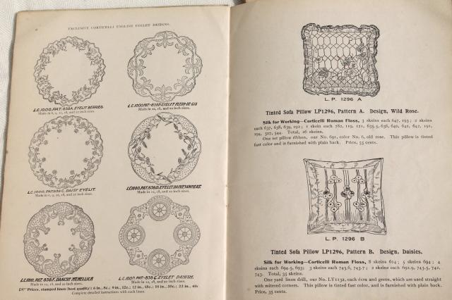 Antique s vintage needlework books embroidery