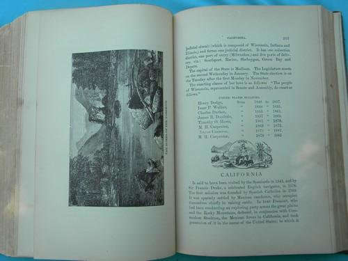antique 1870s history and heritage branches of American Government