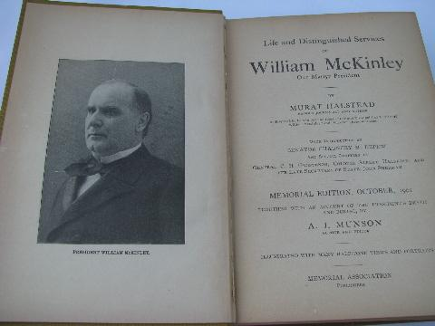 an introduction to the life of william mckinley Introduction poems from life throughout his life, mckinley was known for his devotion and service to his charles h william mckinley: his life and work.