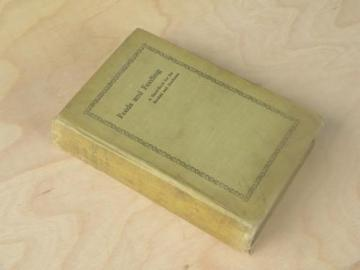 antique 1910 farmer's Feeds and Feeding livestock handbook farm library