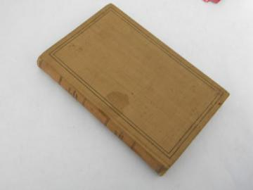 antique 1917 WWI vintage US Army courts-martial manual of military law