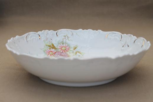 Antique Bavaria Amp Germany China Bowls Lot Embossed
