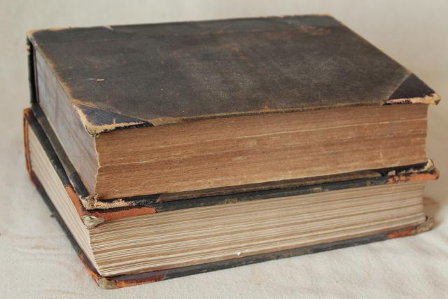 antique Harper's & Century magazines, bound magazine issues 1880s 1890s
