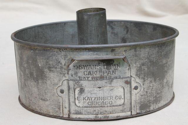 vintage cake pan