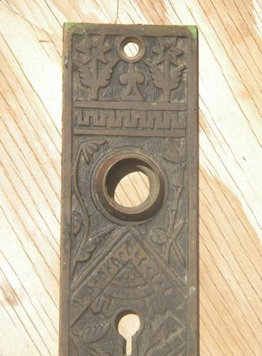 Antique Victorian Arts Amp Crafts Bronze Brass Door Knob