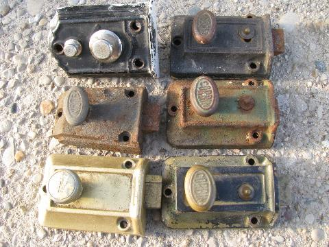 antique hardware for sale barn door lot vintage box locks laurel leaf farm item ebay