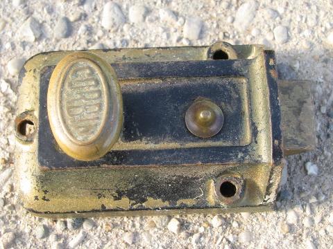 Antique Victorian Door Hardware Lot Old Vintage Corbin