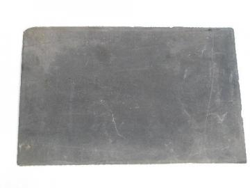 antique Victorian schoolhouse vintage natural stone chalk writing slate blackboard