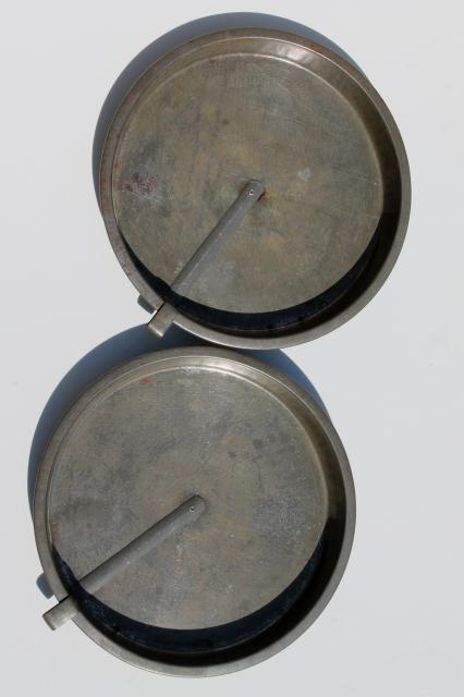 Tinned Steel Pie Pan Cake Pans