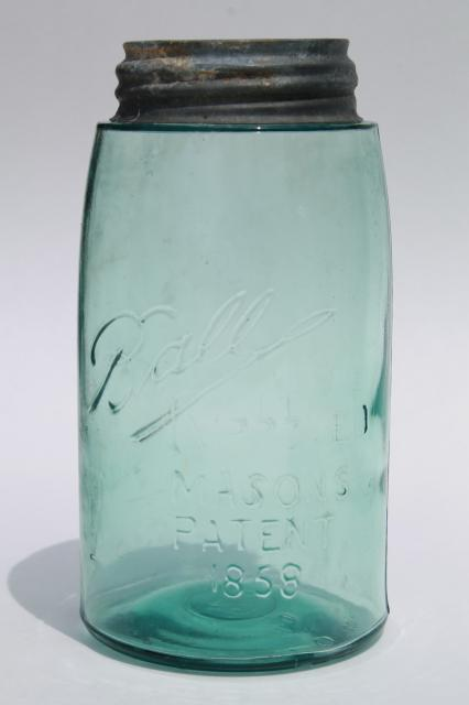 dating old glass jars