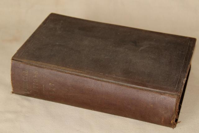 antique book historical economics Commercial Relations of the United States 1877